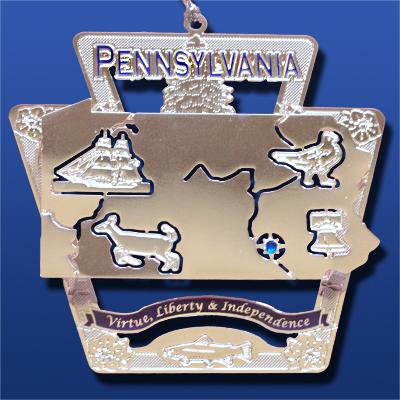 Pennsylvania Ornaments