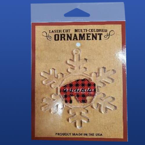 Glass Slate Wood Ornaments